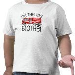 Big brother vermelho do carro de bombeiros tshirt