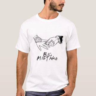 Big mistake camiseta