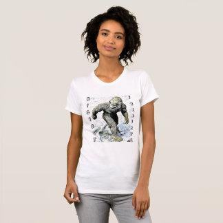 BIGFOOT EU ACREDITO a camisa de Sasquatch