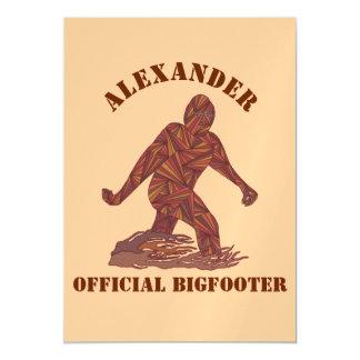 Bigfoot Tan personalizado Sasquatch de passeio