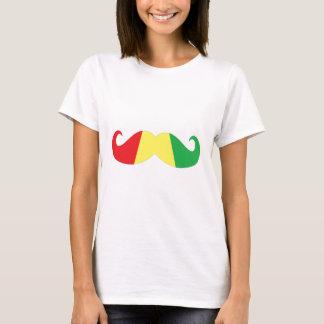 bigode da reggae camiseta