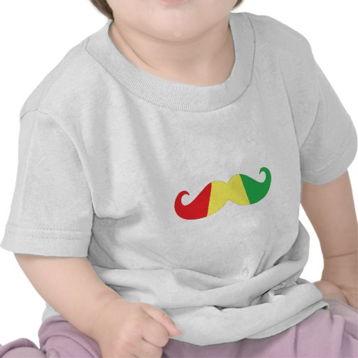 bigode da reggae t-shirts
