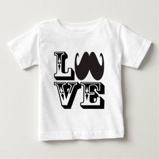 Bigode do AMOR Camiseta