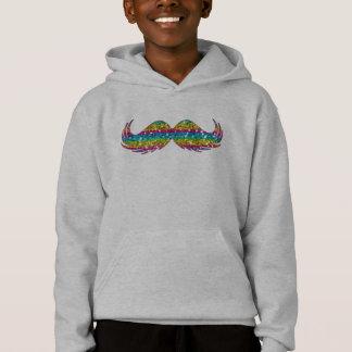 Bigode do brilho do arco-íris