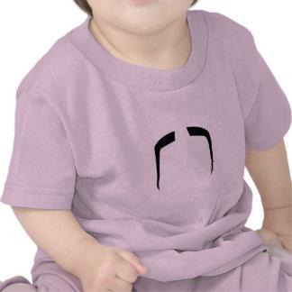 Bigode do Manchu de Fu Camisetas