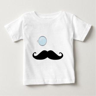 Bigode do Monocle Camisetas