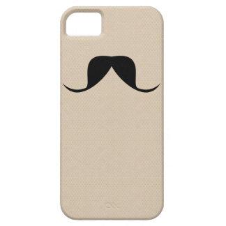 Bigode engraçado das capas de iphone capa barely there para iPhone 5
