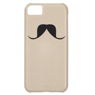 Bigode engraçado das capas de iphone capa para iPhone 5C