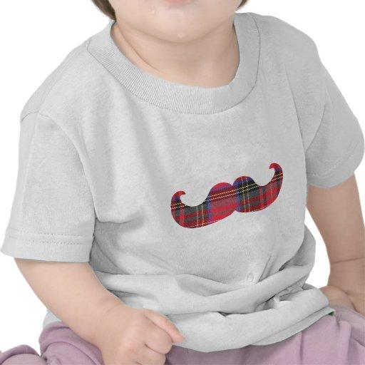 Bigode escocês (ou moustache do scottache) camiseta