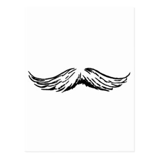 Bigode os presentes de Zazzle do MUSEU Cartão Postal
