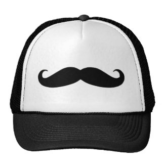 Bigode preto ou Moustache preto para presentes do  Boné