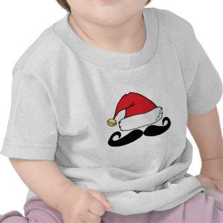Bigode Shirt png de Papai Noel Camiseta