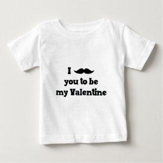 Bigode você a ser meus namorados tshirts