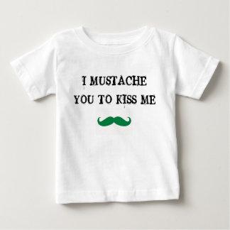 bigode você para beijar-me irlandês da camisa do