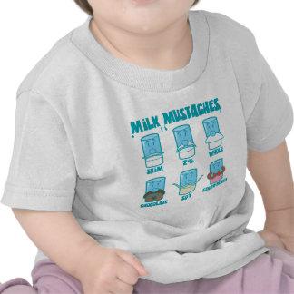 Bigodes do leite tshirt