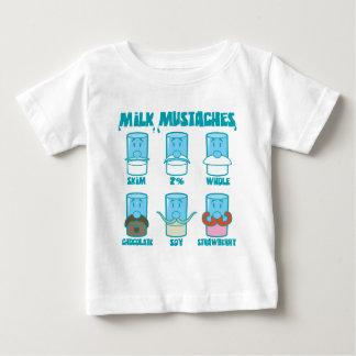 Bigodes do leite tshirts