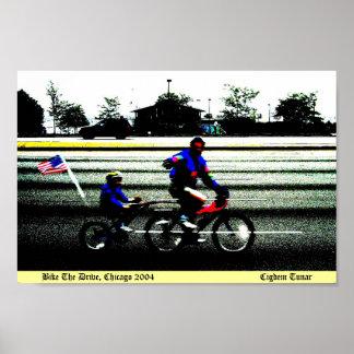 Bike a movimentação, Chicago 2004 Poster