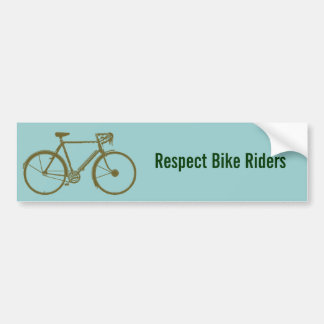 bike , bicycle ; biking / cycling adesivo para carro
