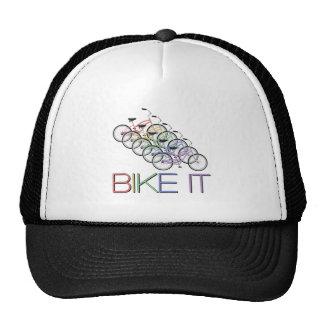 Bike o - palavras com 5 bicicletas boné