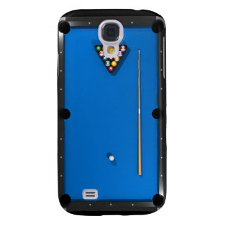 Bilhar/mesa de bilhar: Azul sentido: Galaxy S4 Covers
