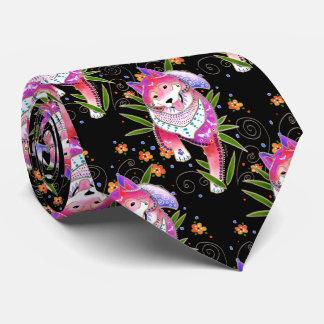 BINDI SHIBA INU - gravata do desenhista