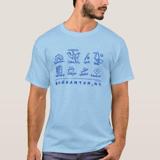 Binghamton, camisa dos ícones de NY