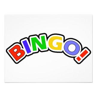 Bingo Convites Personalizado