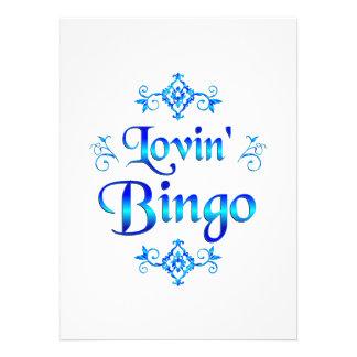 Bingo de Lovin Convite
