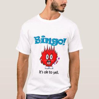 Bingo do grito! camiseta
