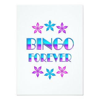 Bingo para sempre convite personalizados