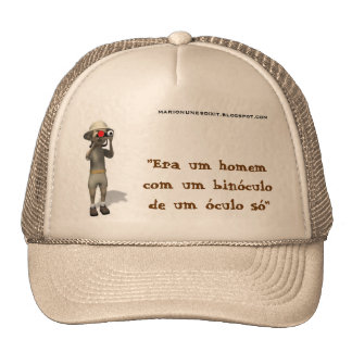 binoculo do chapeu boné