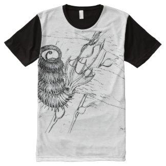 Binodosum de Didymoceras Camisetas Com Impressão Frontal Completa