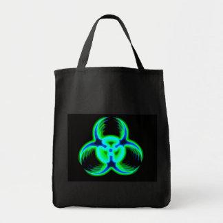 Biohazard 10 sacola tote de mercado
