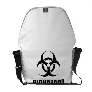 Biohazard Bolsa Mensageiro