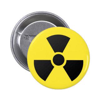 biohazard bóton redondo 5.08cm