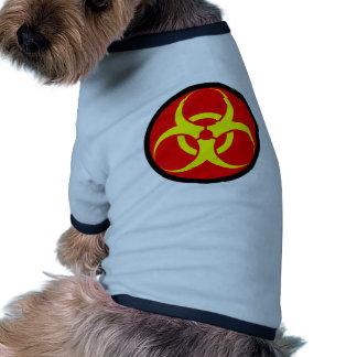 biohazard roupas para cães