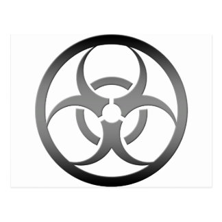 Biohazard Cartao Postal