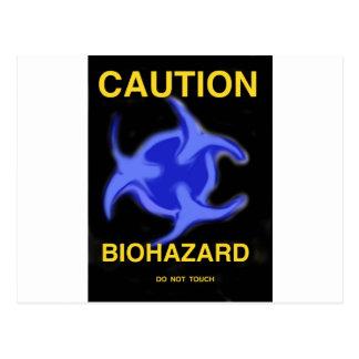 Biohazard Cartoes Postais