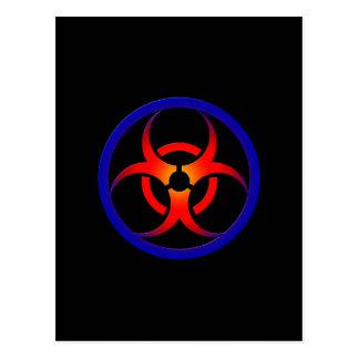 Biohazard Cartão Postal