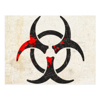 Biohazard Cartões Postais