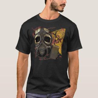 Biohazard do crânio de Gasmask Camisetas