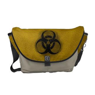 Biohazard do zombi bolsas mensageiro