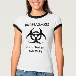 BIOHAZARD - em uma dieta e em um t-shirt de Hangry