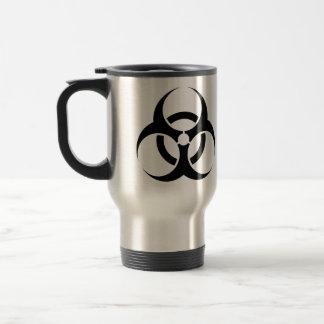 Biohazard - estilo 2 caneca térmica