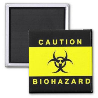 Biohazard Ímã Quadrado