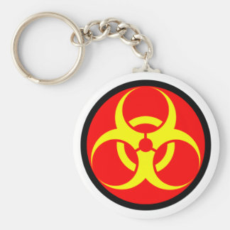 biohazard chaveiro