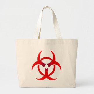 Biohazard - VERMELHO Bolsas