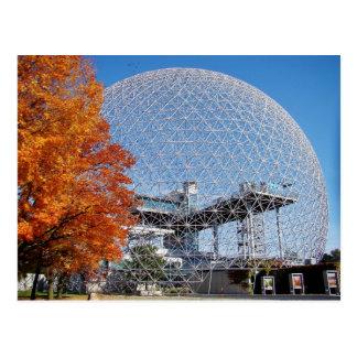 Biosfera Montreal Cartão Postal
