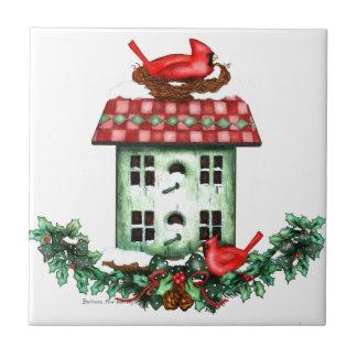 Birdhouse festivo de Winer