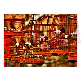 Birdsong de Shanghai Streetside Cartão De Nota